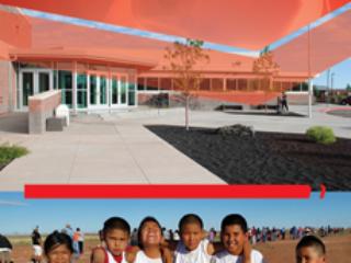 Dilcon Community School Standing Recruitment Banner