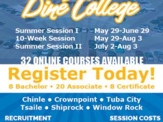 Diné College Recruitment - Navajo Times Summer 2018 Advertisement