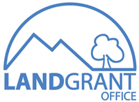 Land Grant Office of Diné College Logo
