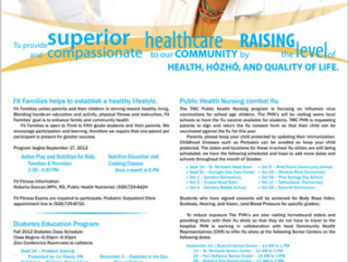 Tséhootsooí Medical Center - Navajo Times Full-page Ad