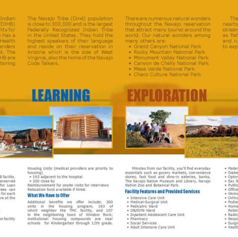 Tséhootsooí Medical Center - Recruitment Brochure Inside