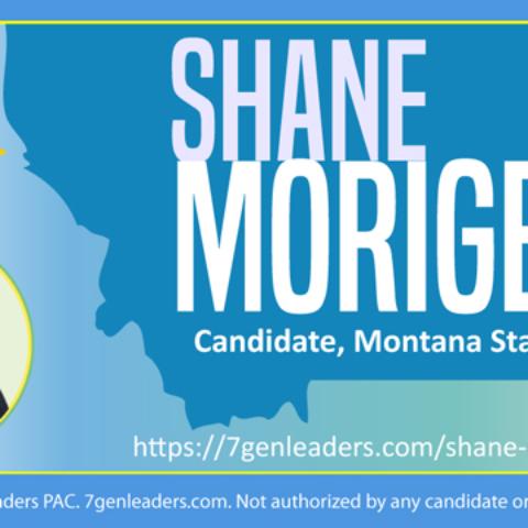Instagram Shane Morigeau Montana Candidate