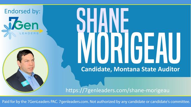 Twitter Shane Morigeau Montana Candidate